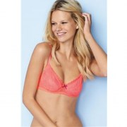 Phoebe Lace Coral Non Padded Bra