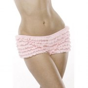RUFFLE-SHORTS-W-BACK-BOW-PINK